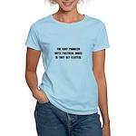 Political Jokes Elected Women's Light T-Shirt