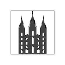 "Salt Lake Temple Square Sticker 3"" x 3"""