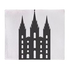 Salt Lake Temple Throw Blanket