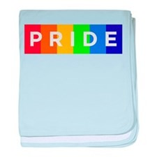 Gay Pride Car Bumper Magnet baby blanket