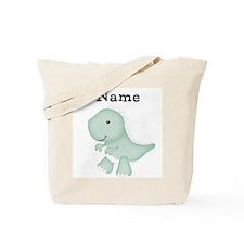 Personalizable T Rex Tote Bag