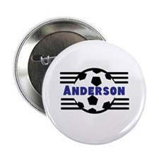 """Personalized Soccer 2.25"""" Button"""