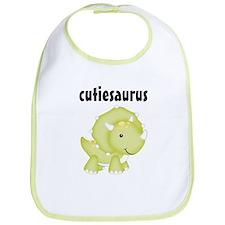 Cutiesaurus Bib