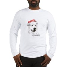 Great Pyrenees Long Sleeve Holiday T-Shirt