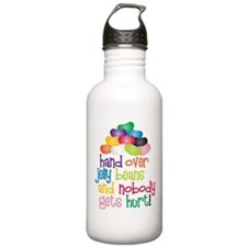 Hand Over Jelly Beans Sports Water Bottle