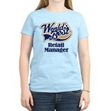 Retail Manager (Worlds Best) T-Shirt
