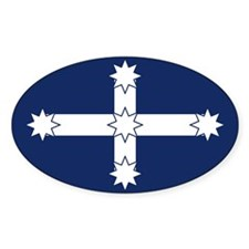 Eureka Flag of Australia Oval Decal
