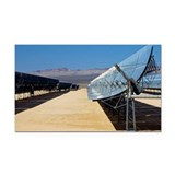 Solar parabolic mirror, California - Car Magnet