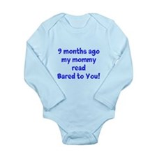 My Mommy Read Long Sleeve Infant Bodysuit