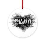 Giraffes Ornament (Round)