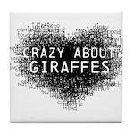 Giraffes Tile Coaster