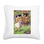 Alice Woodward004X.png Square Canvas Pillow