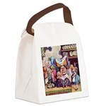 ALICE_SQ_MEETS_THE_DUCHESS.png Canvas Lunch Bag