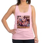 ALICE_SQ_MEETS_THE_DUCHESS.png Racerback Tank Top