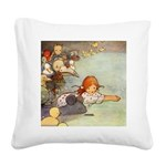 Alice in Wonderland006 SQ.png Square Canvas Pillow
