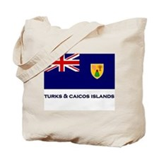 The Turks & Caicos Islands Flag Gear Tote Bag