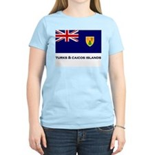 The Turks & Caicos Islands Flag Gear Women's Pink