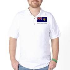The Turks & Caicos Islands Flag Gear T-Shirt