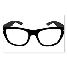 Geeky / Nerdy Glasses Decal