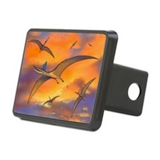 Pterosaur flying reptiles, artwork - Hitch Cover