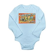 St Augustine Florida Greetings Long Sleeve Infant