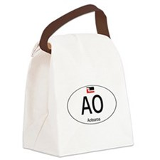 Car code Maori White Canvas Lunch Bag