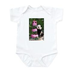 Panda With Cake Infant Bodysuit
