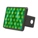 Cannabis leaves - Hitch Cover