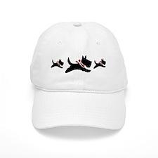 Holiday Scotties Baseball Cap