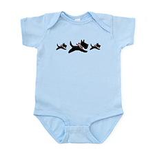 Holiday Scotties Infant Bodysuit