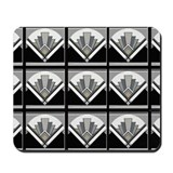 Art Deco Geometric Mousepad