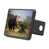 White rhinoceros - Hitch Cover