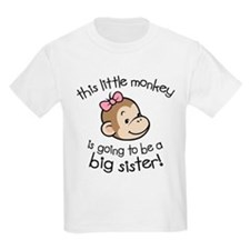 Unique Big sister to be T-Shirt