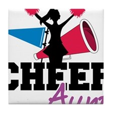 Cheer Aunt Tile Coaster
