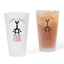 Junior Varsity Cheer Squad Drinking Glass