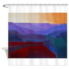 GRAND CANYON AM Shower Curtain