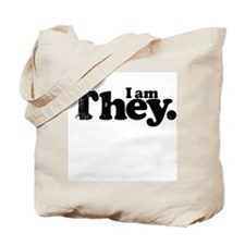 I am They. Tote Bag
