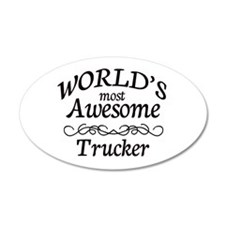 Trucker Wall Decal