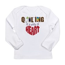 Quilting Long Sleeve Infant T-Shirt