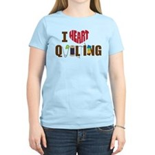 I Heart Quilting T-Shirt