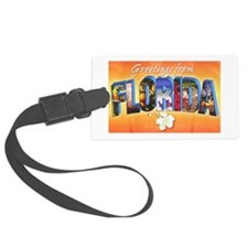 Florida State Greetings Luggage Tag