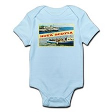 Nova Scotia Canada Greetings Infant Bodysuit