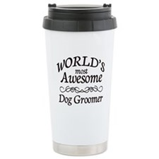 Dog Groomer Ceramic Travel Mug