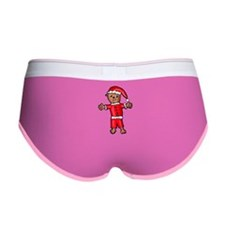 Christmas Groundhog Women's Boy Brief