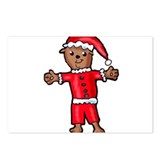 Christmas Groundhog Postcards (Package of 8)