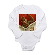 Devil Krampus Christmas Long Sleeve Infant Bodysui