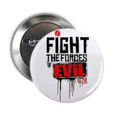 """Fight the Forces of EVIL! 2.25"""" Button (10 pa"""