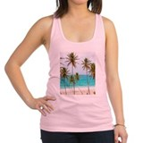 Palms and Sand Racerback Tank Top
