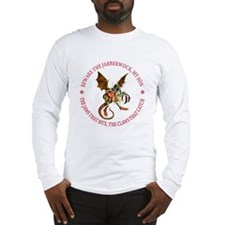 Beware the Jabberwock, My Son Long Sleeve T-Shirt