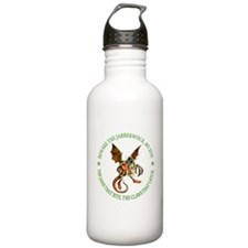 Beware the Jabberwock, My Son Water Bottle
